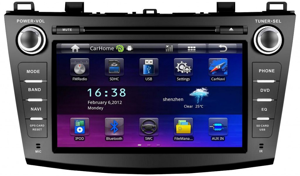 Android-Car-DVD-player